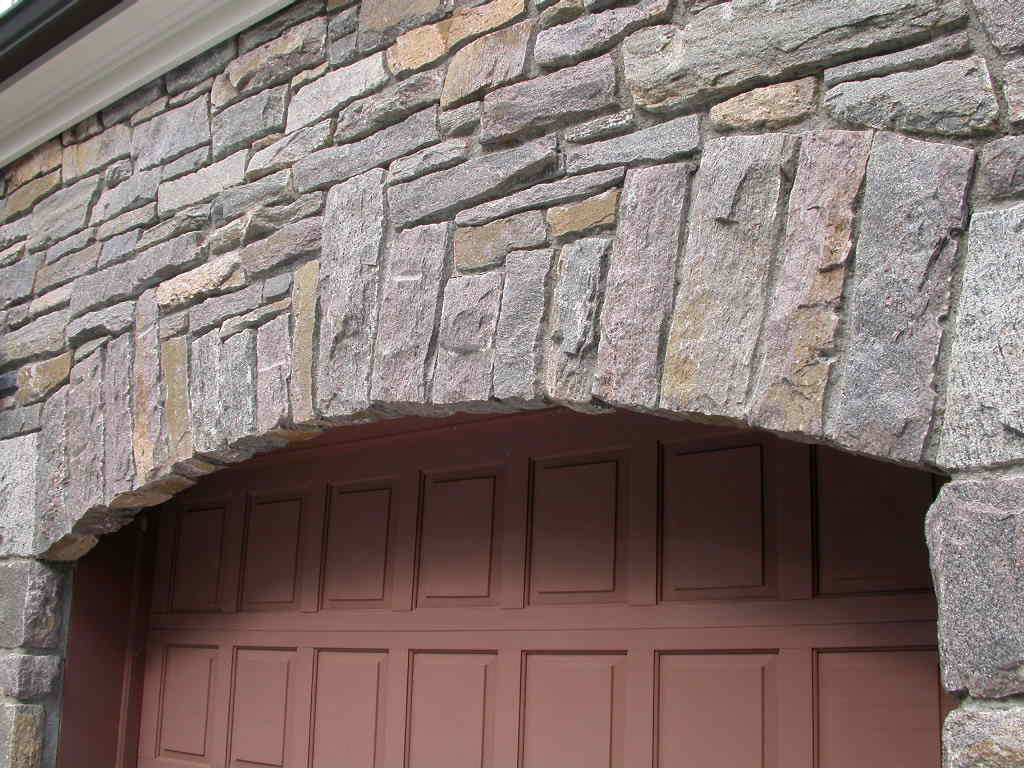Stone Veneer Arch