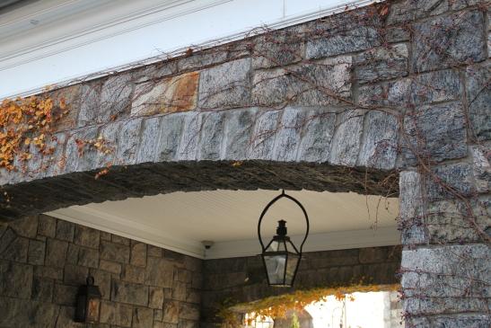 Granite archway
