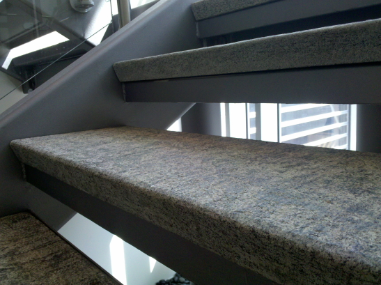 Interior Stair Treads with Finished Front Edge