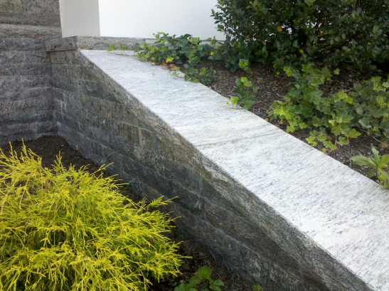 Exterior Wall and Wall Coping