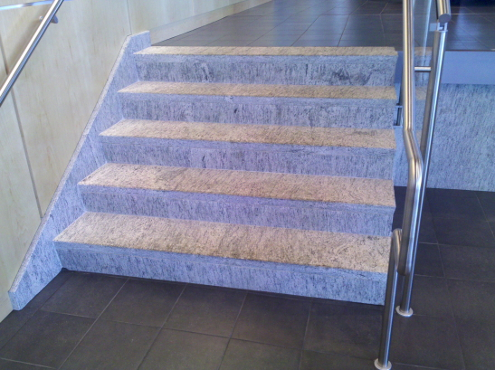 Interior Steps - Treads and Riser Veneer