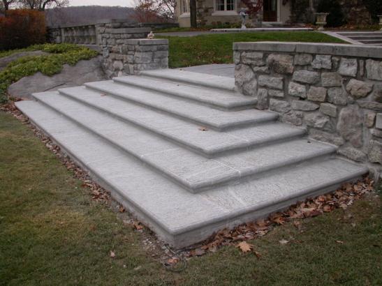 Granite Stone Steps