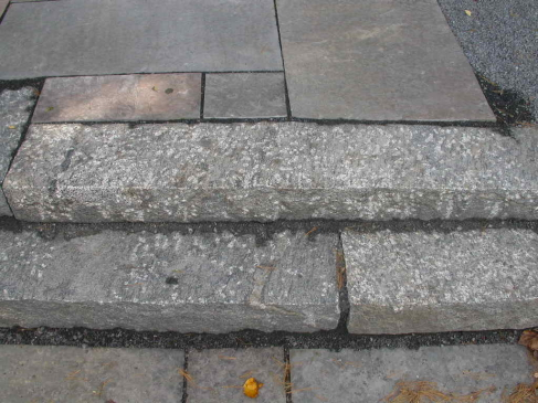 Full-Thickness Granite Steps